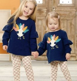 Mud Pie Turkey Tunic & Legging