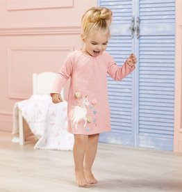 Mud Pie Unicorn Raglan Dress
