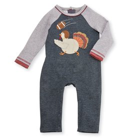 Mud Pie Turkey Football One Piece