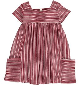 Vignette Rylie Dress Burgundy
