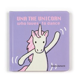Jellycat Una the Unicorn Who Loves to Dance Book