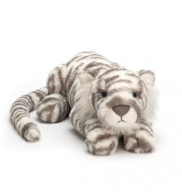 Jellycat Sacha Snow Tiger Little