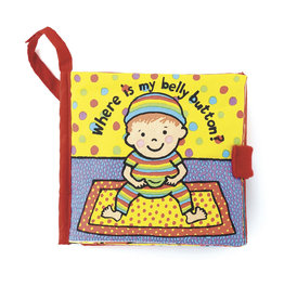 Jellycat Where is My Belly Button? Book