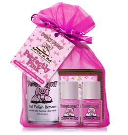 Piggy Paint Perfectly Pink Polish & Art Gift Set