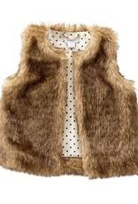 Mud Pie Faux Fur Vest