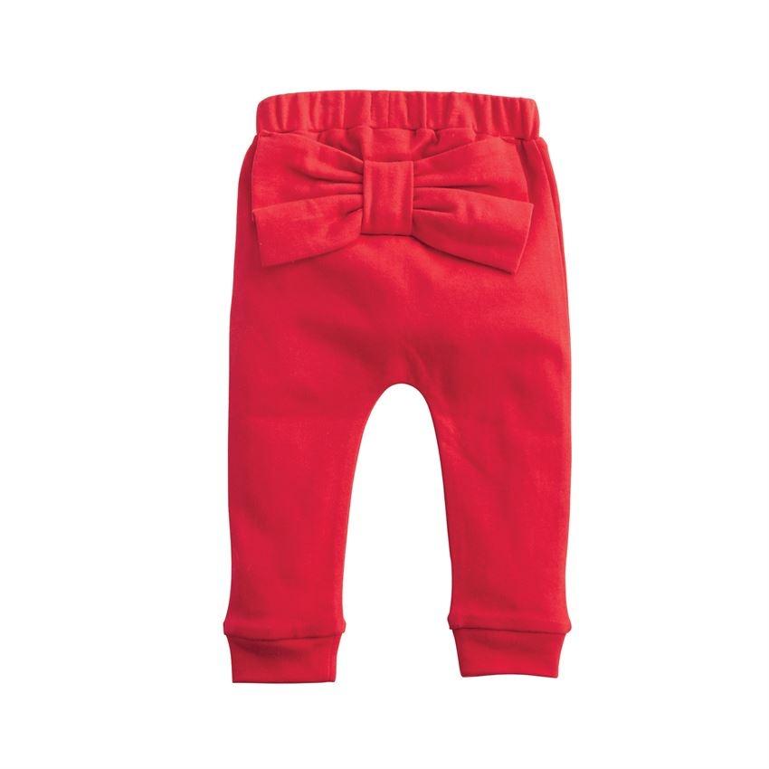 Mud Pie Santa's Favorite Onesie & Red Pant Set