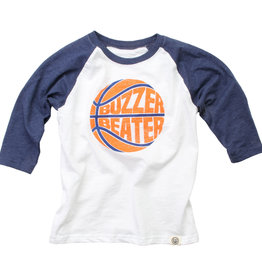 Wes And Willy LS Buzzer Beater 3/4 Sleeve Raglan Midnight