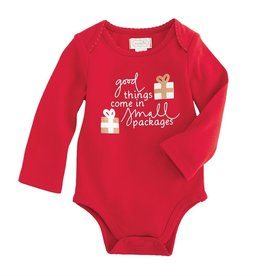 Mud Pie Good Things Small Packages Onesie, 0/6M