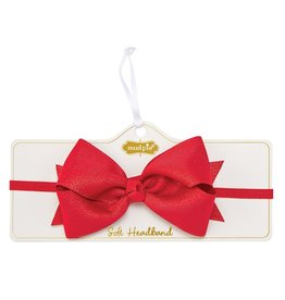 Mud Pie Glitter Holiday Soft Headband