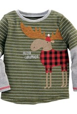 Mud Pie Mr. Christmoose Sheldon T-Shirt