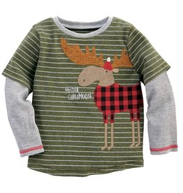 Mud Pie Mr. Christmoose Sheldon T-Shirt