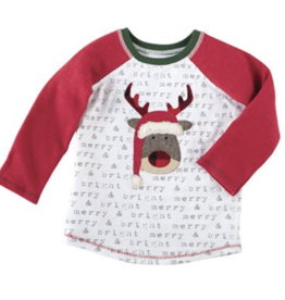 Mud Pie Reindeer Alpine T-Shirt