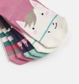 Joules Brilliant Bamboo Socks Multi Horse
