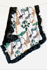 Rockin Royalty Safari Blanket (Full Size)
