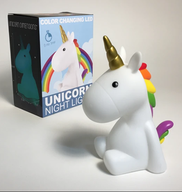 iscream Color Changing LED Unicorn Night Light