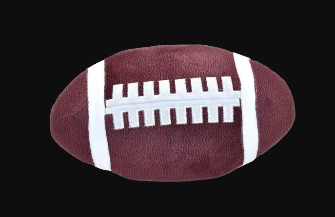 iscream Football Large Squish Pillow