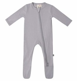 Kyte Baby Zipper Footie in Storm