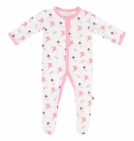 Kyte Baby Printed Footie in Mythical