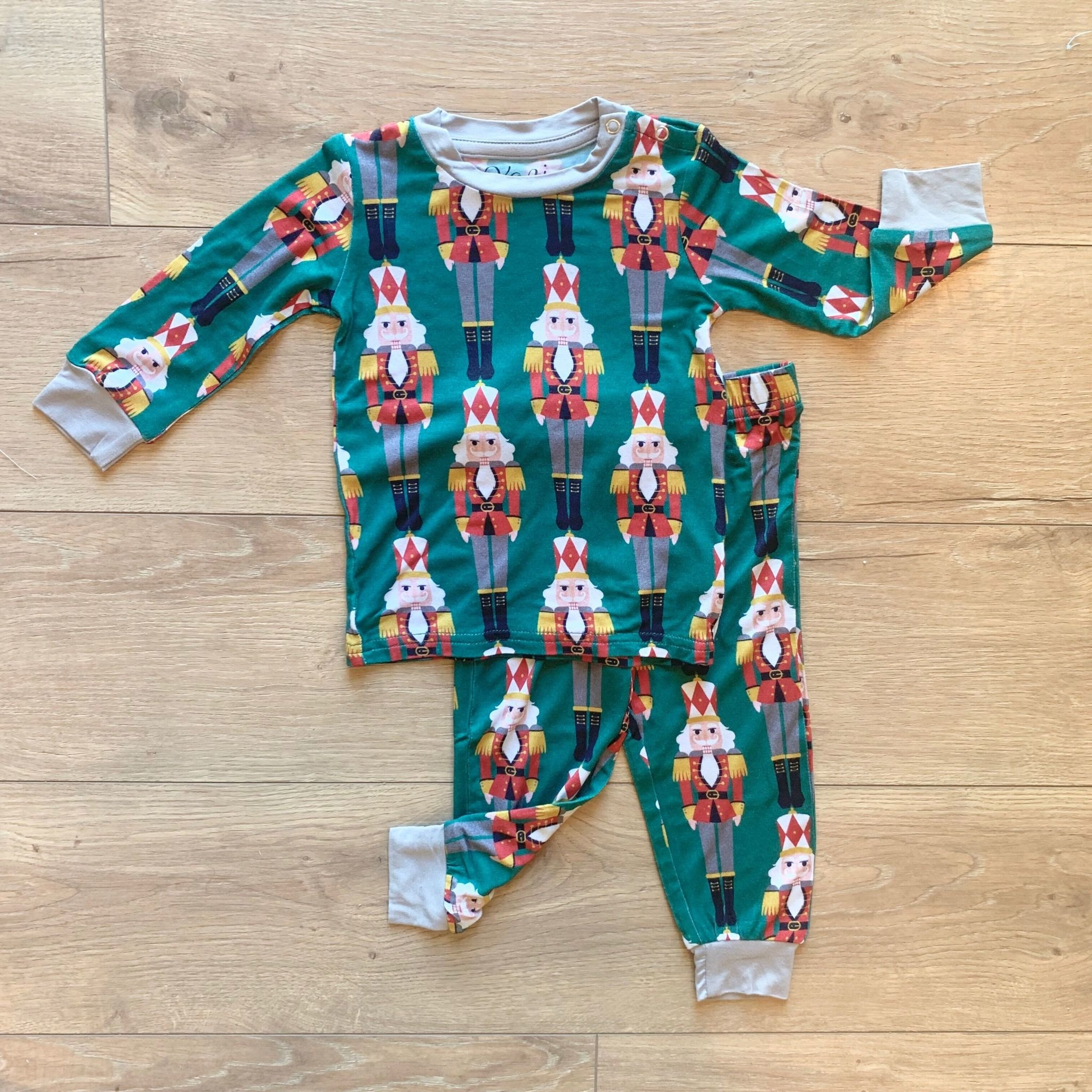 Kozi & Co Nutcracker Pajama Set