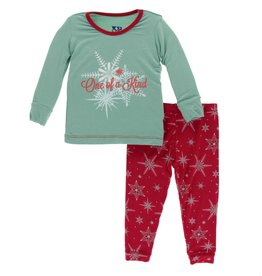 Kickee Pants LS PJ Set Shore One of a Kind