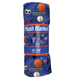 iscream Sports Plush Blanket 56 x 60