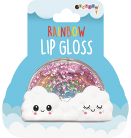 iscream Rainbow Lip Gloss (Strawberry Flavor)