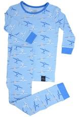 Sweet Bamboo Big Kid Pj Set Airplanes