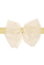 Sweet Wink Ivory Bow Soft Headband
