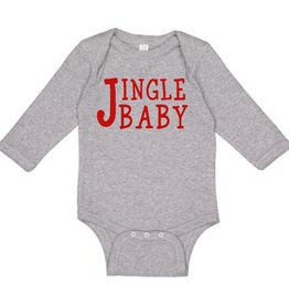 Sweet Wink Jingle Baby LS Bodysuit Gray (Boy)