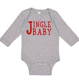 Sweet Wink Jingle Baby LS Bodysuit Gray (Boy)