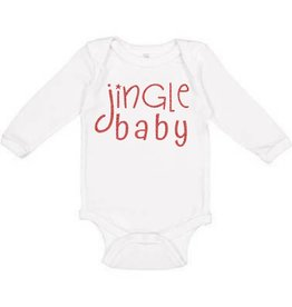 Sweet Wink Jingle Baby LS Bodysuit White (Girl)