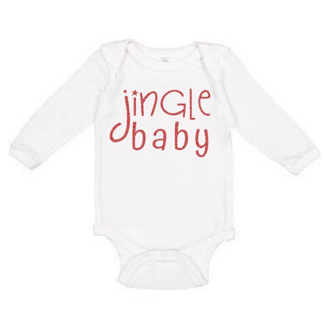 Sweet Wink Jingle Baby LS Bodysuit White (Girl)