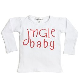 Sweet Wink Jingle Baby LS Shirt White (Girl)