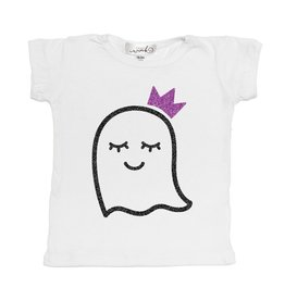 Sweet Wink Girl Ghost S/S Shirt White