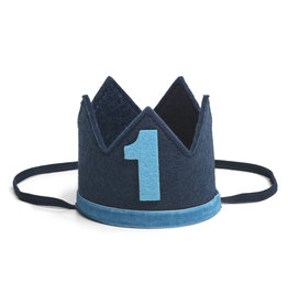 Sweet Wink Navy/Blue #1 Boy Crown