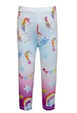 Truly Me Unicorn Print Leggings w/ Rhinestones