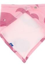 Kickee Pants Bandana Bib Lotus Whales