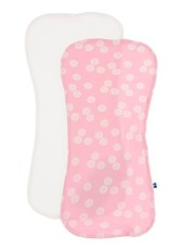 Kickee Pants Burp Cloth Set (Natural/Lotus Sand Dollar)