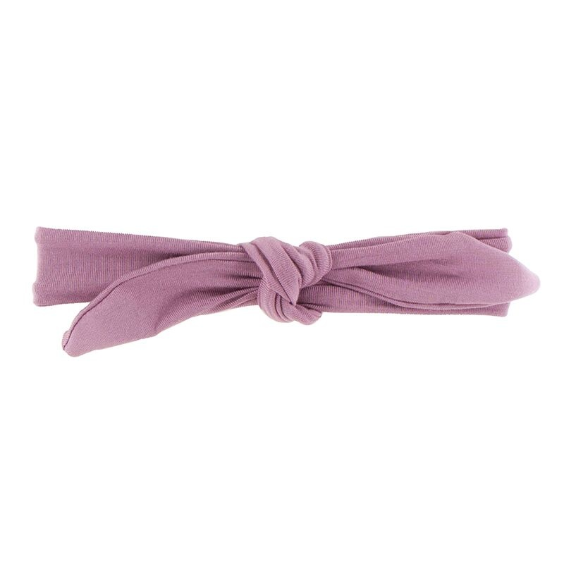 Kickee Pants Solid Bow Headband Pegasus, S