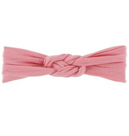 Kickee Pants Solid Knot Headband Strawberry, S