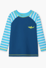 Hatley Great White Shark LS Rashguard Swim Top