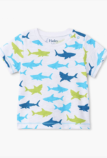 Hatley Great White Sharks Graphic Tee White