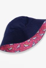 Hatley Prancing Unicorns Reversible Sun Hat