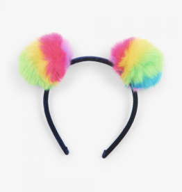 Hatley Prismatic Pom Poms Headband