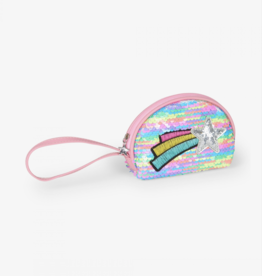 Hatley Rainbow Shooting Star Mini Change Purse