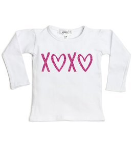 Sweet Wink XOXO LS Shirt White