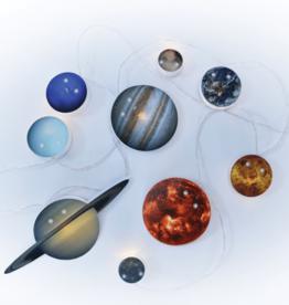 iscream Solar System String Lights