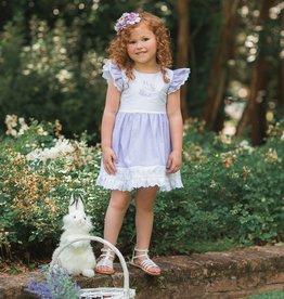 Evie's Closet Lavender Bunny Dress