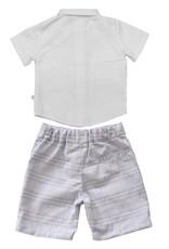 Fore!! Axel & Hudson Blue Plaid Vest Shirt & Short & Bowtie Set