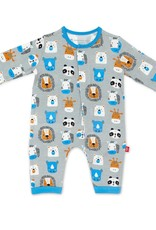 Magnificent Baby Animal House Modal Magnetic Coverall
